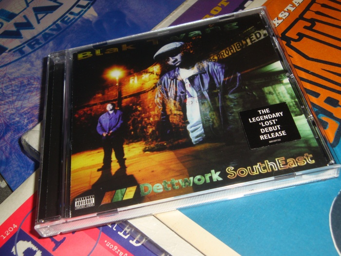 The cover of the remastered version of Dettwork SouthEast released in September 2014